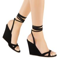 MANOLA - Black - Sandals