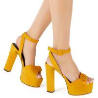 BETTY KNOT - Yellow - Platforms