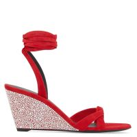 MANOLA STRASS - Red - Sandals