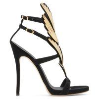 2.0 CRUEL - Black - Sandals