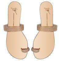 RING PLEXY - Goldfarben - Flache Schuhe