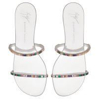 COLORFUL - Silberfarben - Flache Schuhe