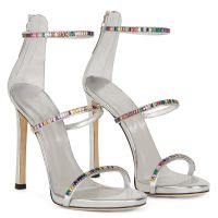 HARMONY COLORFUL - Argent - Sandales