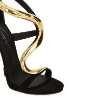 VENERE - Black - Sandals