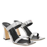 FLAMINIA - Silver - Sandals
