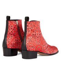 SHELDON PAISLY - Rouge - Bottes