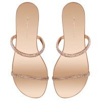 CROISETTE CRYSTAL 50 - Pink - Flats