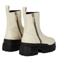 APOCALYPSE ZIP - White - Boots