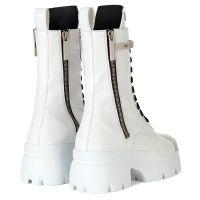 APOCALYPSE METAL - White - Boots