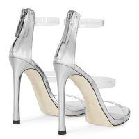HARMONY PLEXI - Silver - Sandals