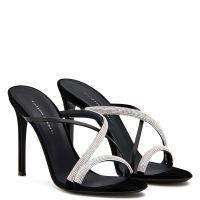 CROISETTE CRYSTAL - Black - Sandals