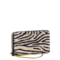 PAULA - Black and white - Wallets