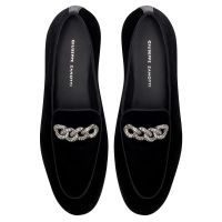 RUDOLPH CHAIN - BLack - Mocassins