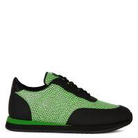 JIMI RUNNING - Green - Low top sneakers