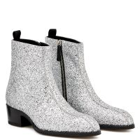 NEW YORK GLITTER - Silver - Boots