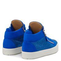 KRISS - Blue - Mid top sneakers