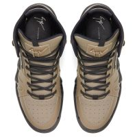 TALON - Beige - High top sneakers