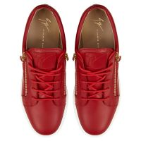 FRANKIE SHELL - Red - Low top sneakers