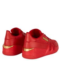 TALON - Rouge - Sneakers basses