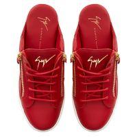 FRANKIE CUT - Rouge - Sneakers basses