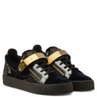 TYLOR - Blue - Low top sneakers