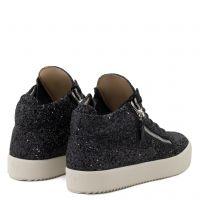 KRISS GLITTER - Mid top sneakers