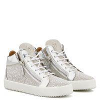 KRISS TWINKLE - White - Mid top sneakers