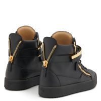 DENNY - Black - High top sneakers