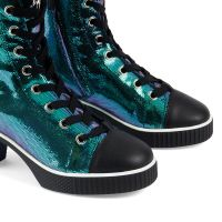 NIDIR - Blue - High top sneakers