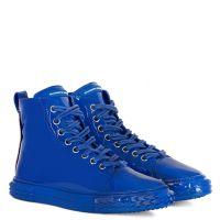 BLABBER - Bleu - Sneakers montante