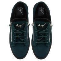 FRANKIE WINTER - Green - Low top sneakers