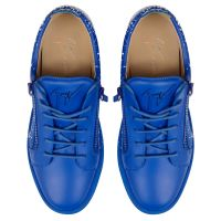 FRANKIE SPRAY - Bleu - Sneakers basses