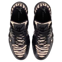 TALON - Black and white - Low top sneakers