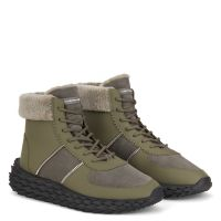 URCHIN - Green - High top sneakers