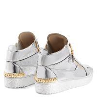 FRANKIE - Silver - Low top sneakers