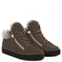 KRISS - Marron - Sneakers montante
