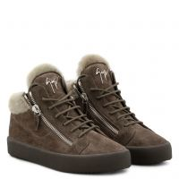 COLE - Brown - Mid top sneakers