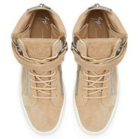 DENNY VELVET - Beige - High top sneakers