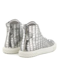 BLABBER - Silver - Mid top sneakers