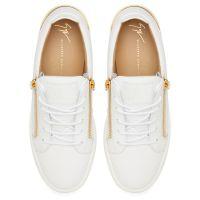 FRANKIE STEEL - White - Low top sneakers