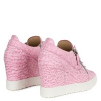 ADDY WEDGE - Rose - Sneakers hautes