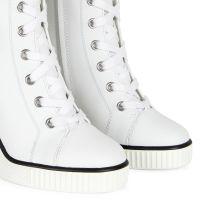 NIDIR - Blanc - Sneakers hautes