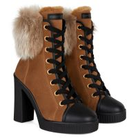 NIDIR - Noir - Sneakers hautes