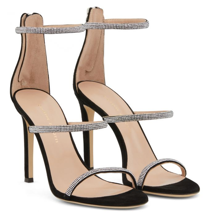 HARMONY STRASS - Black - Sandals