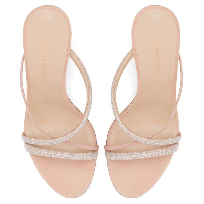 CROISETTE CRYSTAL - Pink - Sandals