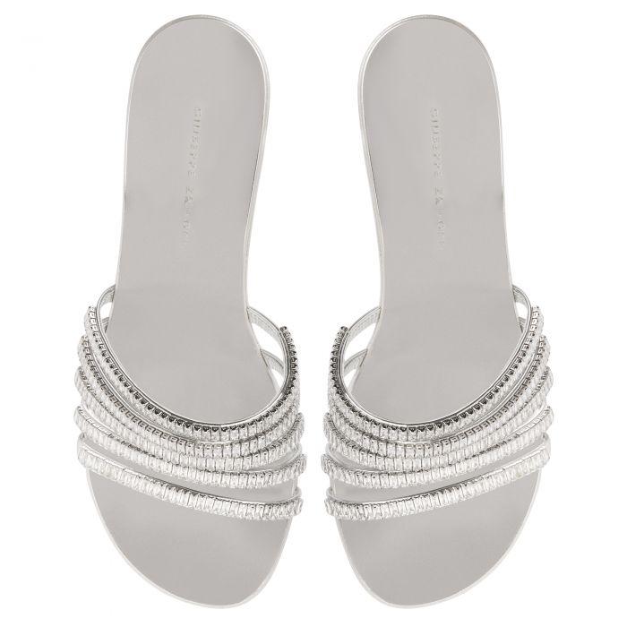 MICHELA 40 - Silver - Sandals