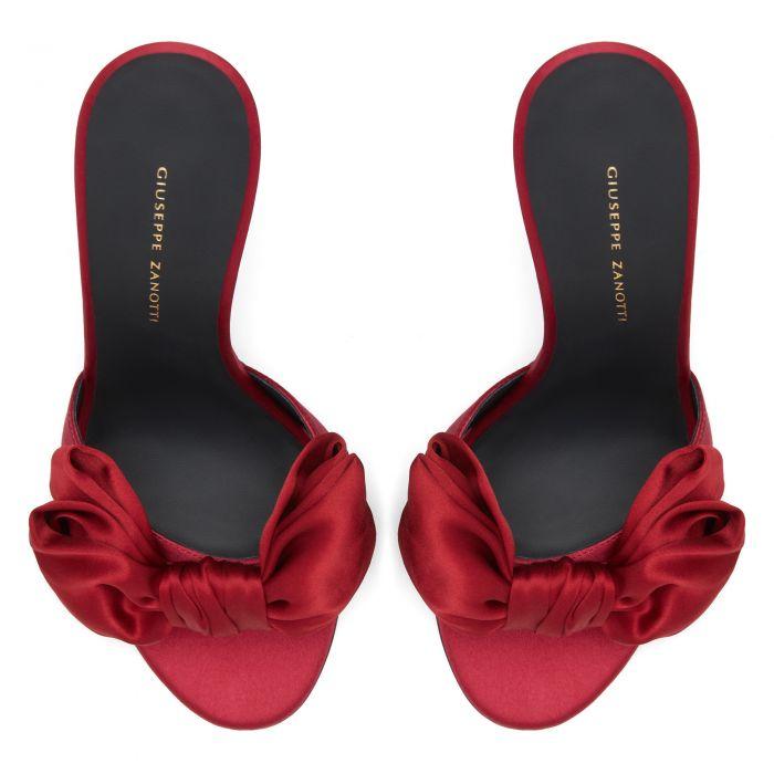 HANNA - Red - Sandals