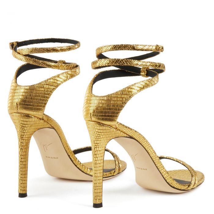CATIA - Gold - Sandals