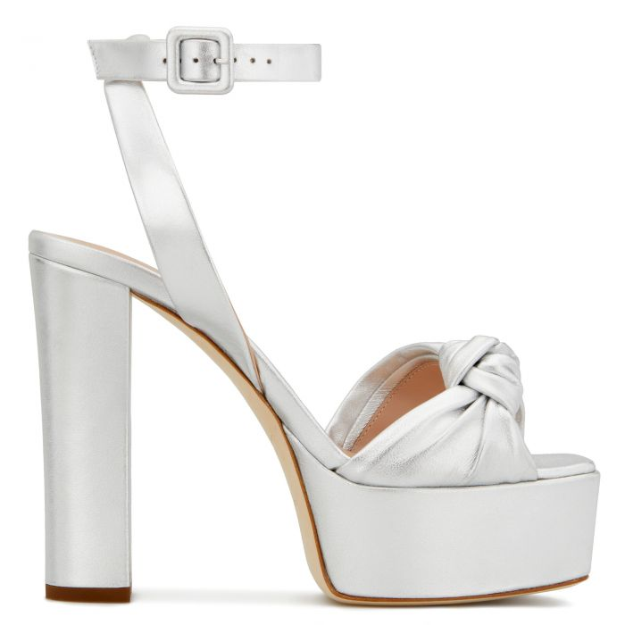 BETTY KNOT - Silver - Platforms