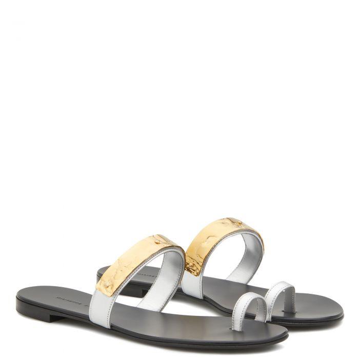 THALIE - Silver - Flats